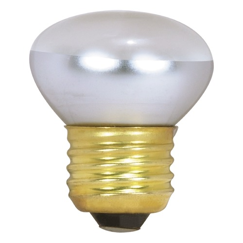 Satco Lighting Incandescent R14 Light Bulb Medium Base Dimmable S3602