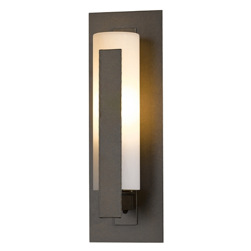 Hubbardton Forge Lighting Hubbardton Forge Lighting Vertical Bar Bronze Outdoor Wall Light 307285-05-ZX66