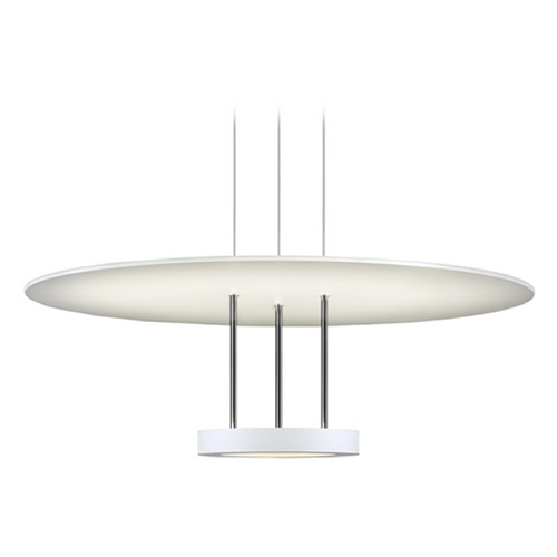 Sonneman Lighting Sonneman Lighting Chromaglo Satin White LED Pendant Light 2400.03