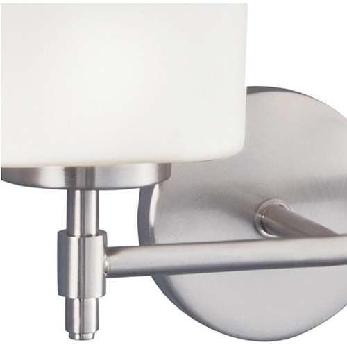 Norwell Lighting Norwell Lighting Moderne Brush Nickel Sconce 5321-BN-MO