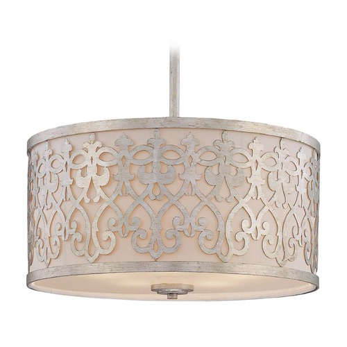 Savoy House Savoy House Argentum Pendant Light with Drum Shade 7-1441-5-211