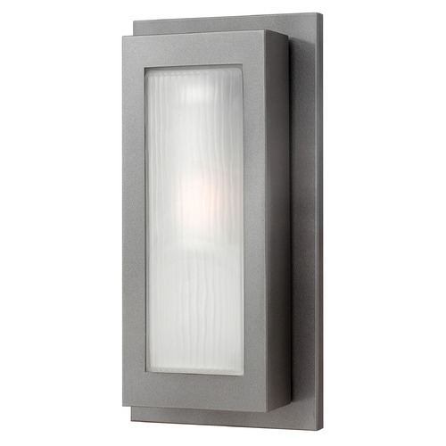 Hinkley Lighting Hinkley Lighting Titan Hematite LED Outdoor Wall Light 2054HE-LED