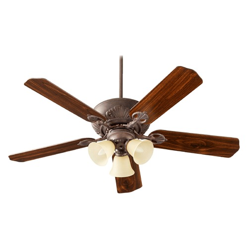 Quorum Lighting Quorum Lighting Chateaux Uni-Pack Toasted Sienna Ceiling Fan with Light 78525-1744