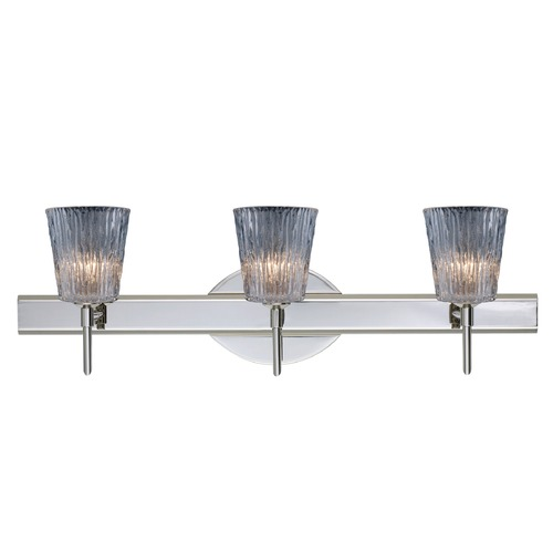 Besa Lighting Besa Lighting Nico Chrome LED Bathroom Light 3SW-512500-LED-CR