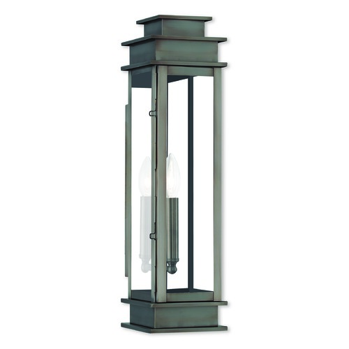 Livex Lighting Livex Lighting Princeton Vintage Pewter Outdoor Wall Light 20207-29
