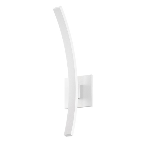 Sonneman Lighting Sonneman L'arc Textured White LED Outdoor Wall Light 7243.98-WL