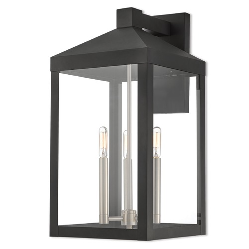 Livex Lighting Livex Lighting Nyack Black Outdoor Wall Light 20585-04