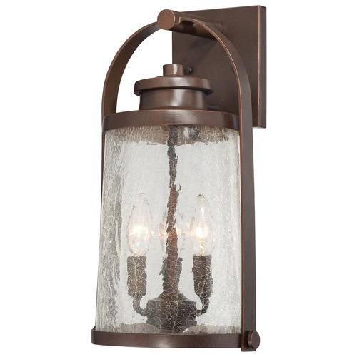 Minka Lavery Minka Lighting Travessa Architectual Bronze with Copper Outdoor Wall Light 72332-291
