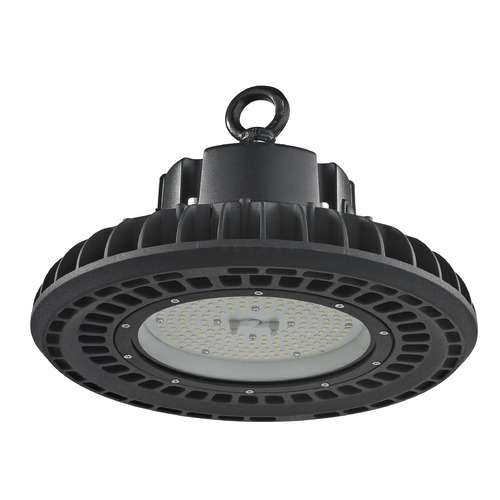 Recesso Lighting by Dolan Designs UFO LED High Bay Light Black 150-Watt 120v-277v 20960 Lumens 5000K 120 Degree Beam Spread HB01-150W-50-BK