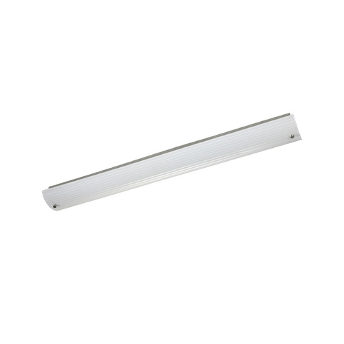 Progress Lighting Progress Modern Bathroom Light with White Glass P7221-09EB