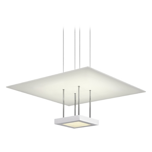Sonneman Lighting Sonneman Lighting Chromaglo Satin White LED Pendant Light 2402.03