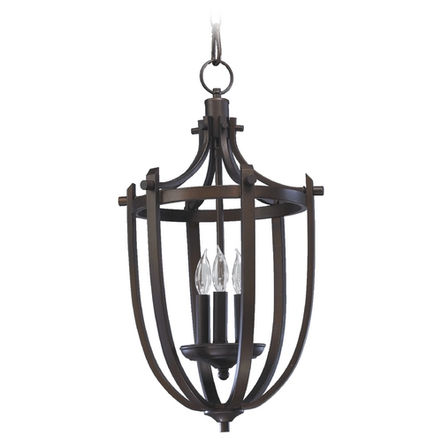 Quorum Lighting Quorum Lighting Winslet Oiled Bronze Pendant Light 6729-3-86