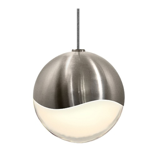 Sonneman Lighting Sonneman Grapes Satin Nickel 1 Light LED Mini-Pendant Light   2910.13-MED