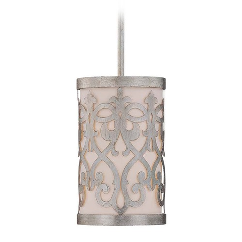 Savoy House Savoy House Argentum Mini-Pendant Light with Cylindrical Shade 7-1443-1-211
