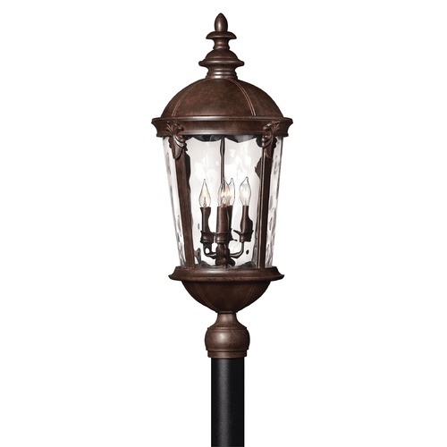 Hinkley Lighting Hinkley Lighting Windsor River Rock LED Post Light 1891RK-LED