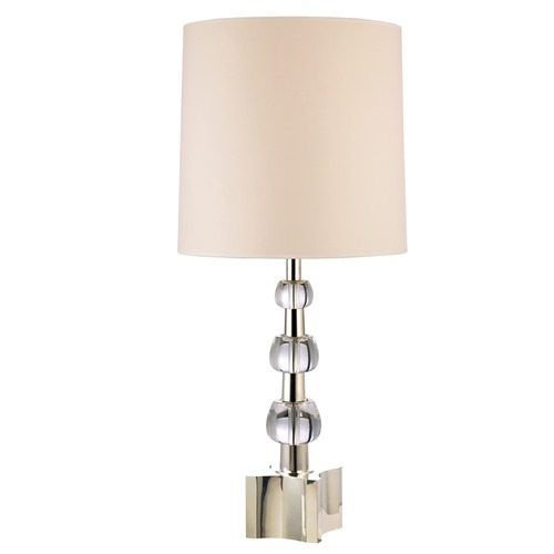 Hudson Valley Lighting Hudson Valley Lighting Concordia Polished Nickel Table Lamp with Cylindrical Shade L125-PN