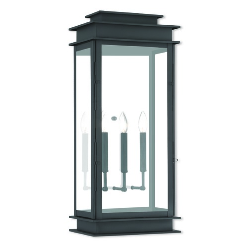 Livex Lighting Livex Lighting Princeton Black Outdoor Wall Light 20208-04