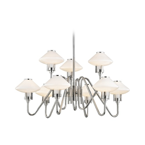 Hudson Valley Lighting Hudson Valley Lighting Knowles Polished Nickel LED Chandelier 2009-PN