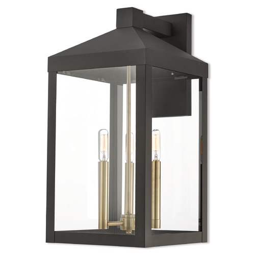 Livex Lighting Livex Lighting Nyack Bronze Outdoor Wall Light 20585-07