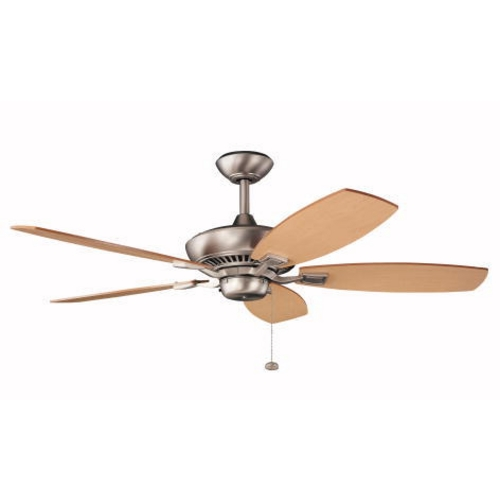 Kichler Lighting Kichler 52-Inch Pull-Chain Ceiling Fan with Five Blades 300117NI