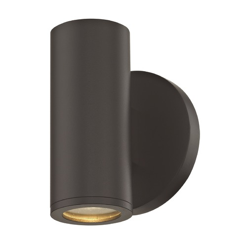 Design Classics Lighting LED Cylinder Outdoor Wall Light Bronze 3000K 1771-BZ S9383 LED 3000K