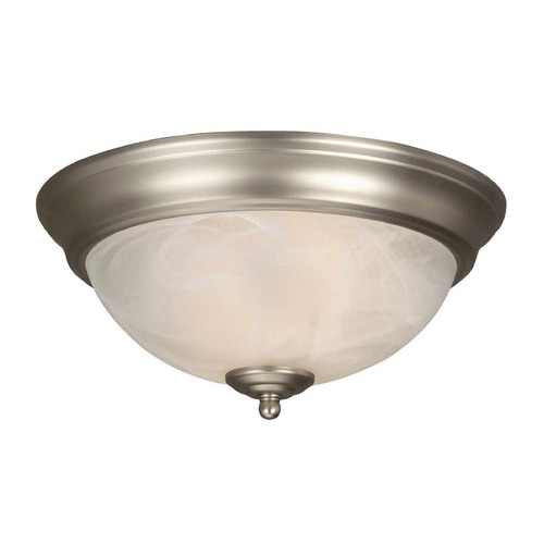 Jeremiah Lighting Jeremiah Brushed Satin Nickel Flushmount Light X211-BN