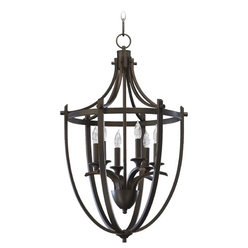 Quorum Lighting Quorum Lighting Winslet Oiled Bronze Pendant Light 6729-6-86
