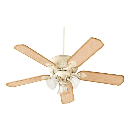 Quorum Lighting Quorum Lighting Chateaux Uni-Pack Persian White Ceiling Fan with Light 78525-1970