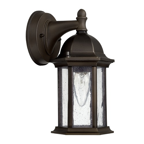 Capital Lighting Capital Lighting Main Street Old Bronze Outdoor Wall Light 9831OB