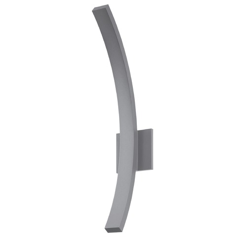 Sonneman Lighting Sonneman L'arc Textured Gray LED Outdoor Wall Light 7245.74-WL