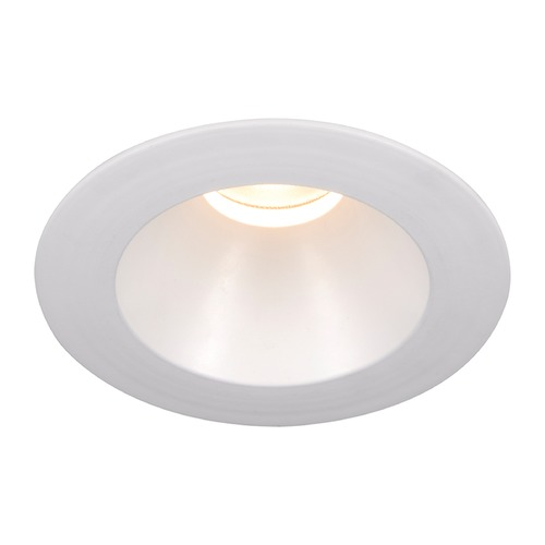 WAC Lighting WAC Lighting Round White 3.5-Inch LED Recessed Trim 3000K 1110LM 18 Degree HR3LEDT118PS930WT