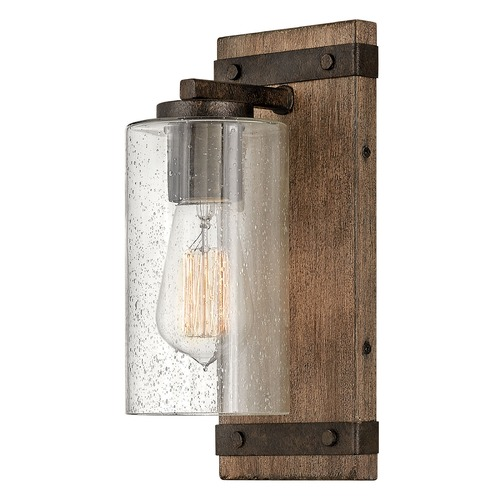 Hinkley Hinkley Sawyer Sequoia / Iron Rust Sconce 5940SQ