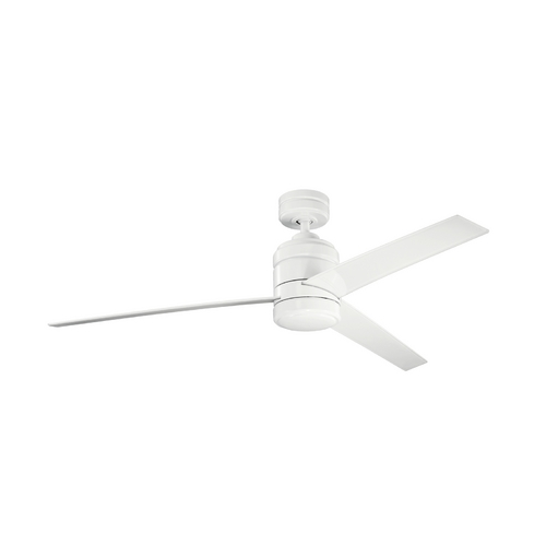 Kichler Lighting Kichler Modern Ceiling Fan Without Light in White Finish 300146WH