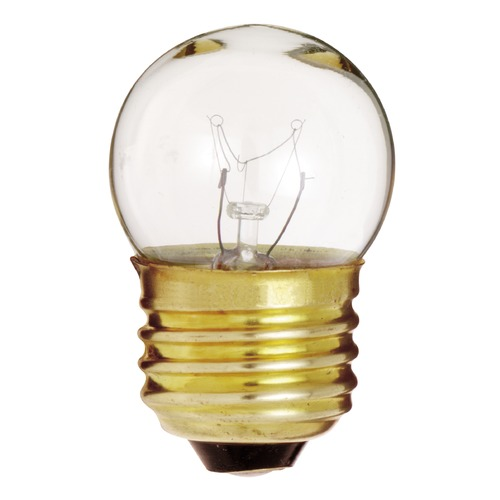 Satco Lighting Incandescent S11 Light Bulb Medium Base Dimmable S3606
