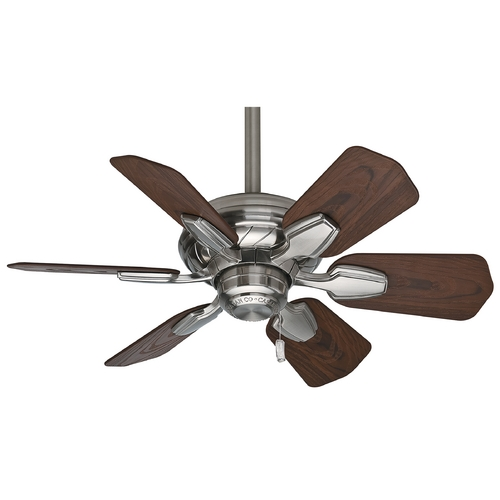 Casablanca Fan Co Casablanca Fan Wailea Brushed Nickel Ceiling Fan Without Light 59524