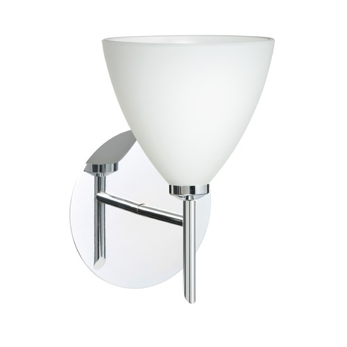 Besa Lighting Besa Lighting Mia Chrome Sconce 1SW-177907-CR