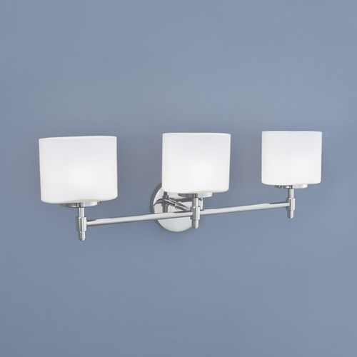Norwell Lighting Norwell Lighting Moderne Chrome Bathroom Light 5322-CH-MO