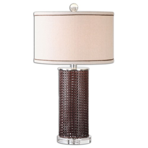 Uttermost Lighting Uttermost Arminius Woven Rattan Lamp 26174-1