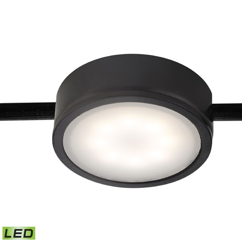 Alico Industries Lighting LED Puck Light Surface Mount 3000K Black by Alico Lighting MLE201-5-31