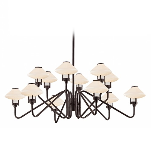 Hudson Valley Lighting Hudson Valley Lighting Knowles Old Bronze LED Chandelier 2012-OB