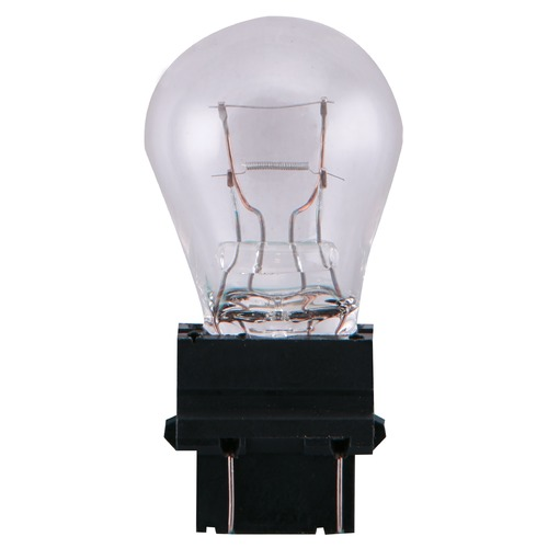 Satco Lighting Satco 26.88/8.26 Watt Miniature S8 DF Plastic Wedge Base 12.8/14 Volt 2-Card Dimmable S2739