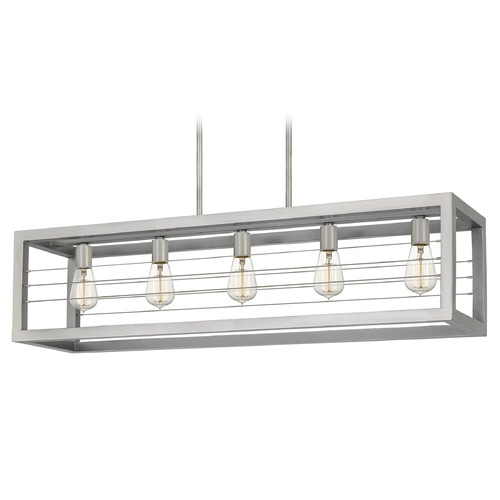 Quoizel Lighting Quoizel Lighting Awendaw Antique Nickel Island Light AWD540AN