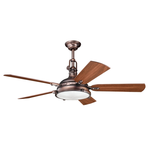 Kichler Lighting Kichler Ceiling Fan with Light Kit in Oil Brushed Bronze Finish 300018OBB
