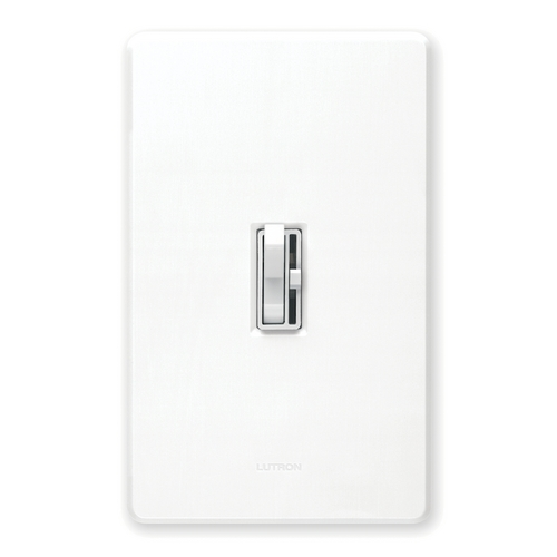 Lutron Dimmer Controls 600-Watt Three-Way Incandescent Dimmer Switch AY603PH-WH