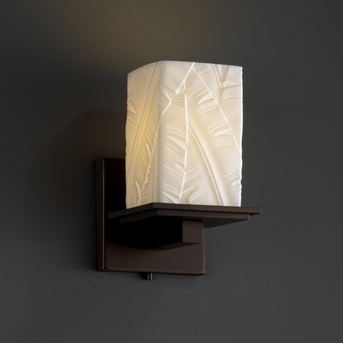 Justice Design Group Justice Design Group Limoges Collection Sconce POR-8671-15-BANL-DBRZ