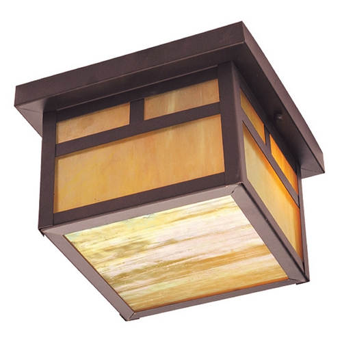 Livex Lighting Livex Lighting Montclair Mission Bronze Close To Ceiling Light 2139-07