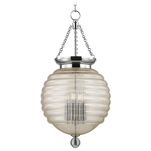 Hudson Valley Lighting Coolidge 4 Light Pendant Light - Polished Nickel 3214-PN