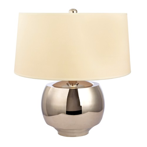 Hudson Valley Lighting Hudson Valley Lighting Holden Polished Nickel Table Lamp with Drum Shade L162-PN