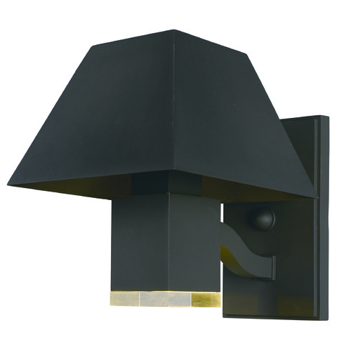 Maxim Lighting Maxim Lighting International Pavilion Black LED Outdoor Wall Light 53512CLBK