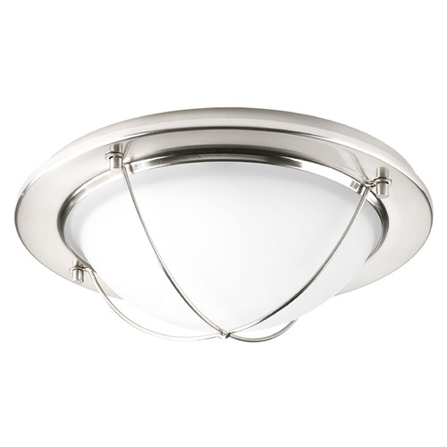 Progress Lighting Progress Lighting Portal LED Brushed Nickel LED Flushmount Light P3658-0930K9